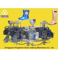 Quality Rain / Water Boot / Gumboot Dual Injection Molding Machine Rotary Type wholesale