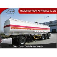 Quality Professional 45000 Liters Fuel Tanker Semi Trailer With 5 Compartments wholesale