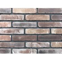 Quality Antique Thin Brick Veneer Through Molded / Sintered With Different Colors Mixed wholesale