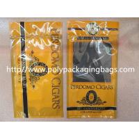 Quality Plastic Cigarettes Cigar Humidor Bags With Hanger Hole Personalized Style wholesale