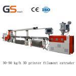 Quality 30 50 Kg / H 3D Printer Filament Extruder / Extrusion Line , ABS Pla Filament Extruder wholesale