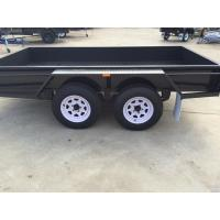 Buy cheap 4500 KG Loading 10x6 Tandem Box Trailer Heavy Duty With Brake from wholesalers