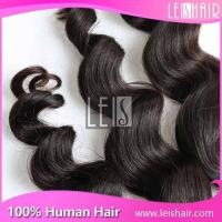 Excellent quality loose wave Cheap Peruvian Hair Wefts