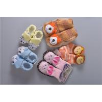 Quality Knitted Slip Resistant Cotton Baby Socks For Keep Warm Custom Made Size wholesale