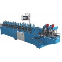 Buy cheap PLC Automatic Control Door Frame Roll Forming Machine With Hydraulic Cutter from wholesalers