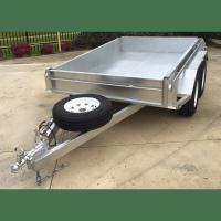 Quality 8x5 Hot Dipped Galvanized Tandem Trailer 2000KG wholesale