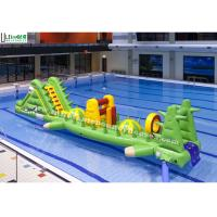 Cheap Custom Alligator Inflatable Water Toys Aqua Game For Children In Swimming Pool wholesale