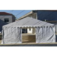 Quality Cheap 6x12M Steel tube White PVC Cover with Transparent Church Windows Outdoor Tent for Events and Parties wholesale