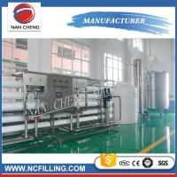 Quality Large Scales Water Treatment Systems Filling Line Mineral Water Purification wholesale
