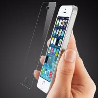 Quality Scratch Resistant Smudge Free Screen Protector , Iphone 5s Glass Screen Protector Film wholesale