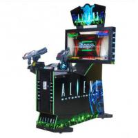 Buy cheap Coin operated electronic Arcade Aliens Extermination shooting game machines indoor 42LCD simulator gun shootin from wholesalers