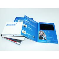 Cheap VIF 2018 Promotion Gift Video Greeting Book Card Customimed LCD Video Brochure 7 inch 512M For Business for sale