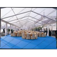 Buy cheap PVC Roof Cover Transparent Marquee Tent , Business Use Clear Top Marquee Inside Decoration from wholesalers