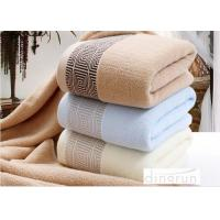 Quality Soft Durable Household Terry Cotton Bath Towels Super Absorbent wholesale