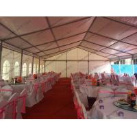 Buy cheap 10x30m Outdoor Banquet Tents Big Wedding Tent With Decoration and VIP Rest Room from wholesalers