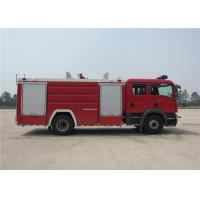 Quality Water 5684L Light Fire Truck Gross Weight 15330kg Four - Stroke Turbocharged Engine wholesale