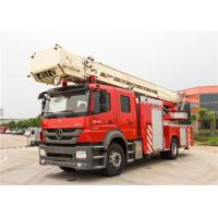 Quality Stroboscope Lamp Rescue Fire Truck Max Loading 23700kg With Waterway Operate Panel wholesale