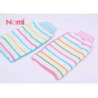 Back Massage Body Wash Gloves Printing Logo With Special Elastic Cord