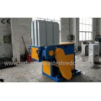 Quality Single Shaft Plastic Lumps Shredder , Plastic Lump Crusher With PLC Control System wholesale