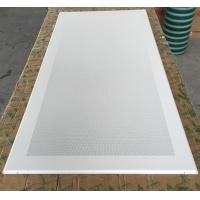 Quality Perforated Aluminum / Metal Soundproof Ceiling Panels , Fire Resistant Ceiling Tiles Dia 1.8mm wholesale
