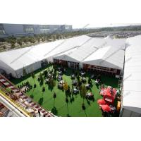 Quality Huge Outdoor Event Tents with Decoration and AC System For Outdoor Exhibition / Conference / Party / Trade Show wholesale