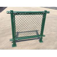 Quality PVC Chain Link Fence for Tennis Soccer Field Court Yard and Garden wholesale