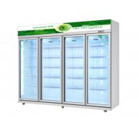 Buy cheap Commercial Upright Beverage Display Fridge For Cold Drinks Meat from wholesalers