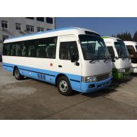 Quality Petrol High Roof Long Wheelbase Commercial Utility Coaster Bus For Tourist Use wholesale