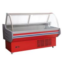 Buy cheap Custom Wheels Butcher Display Fridge 79 * 46 * 35mm For Convenience Store from wholesalers