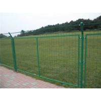 Quality Green Powder Coated Wire Mesh Fencing , Galvanized Wire Fence For Residential Area wholesale