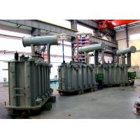 Buy cheap 110kV Single Phase / Three Phase Electrical Oil Immersed  Power Transformers from wholesalers