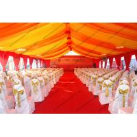 Buy cheap 400 Capacity Huge Gala Aluminum Tent With Luxury Lining For Parties And Outdoor Event from wholesalers