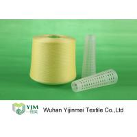 Quality 502 Colored Ring Spun Dyed Polyester Yarn , Polyester Twisted Yarn For Knitting / Weaving wholesale