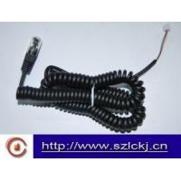 Quality Telephone Handset Coil cable ( flat cable) wholesale