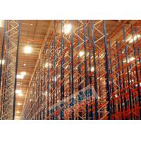 Quality Selective Heavy Duty Pallet Racks Q195 Steel Storage Shelving Maintenance Free wholesale