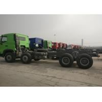 Quality Euro 2 Sinotruk HOWO Heavy Dump Truck Chassis 371HP 9.726L Displacement wholesale