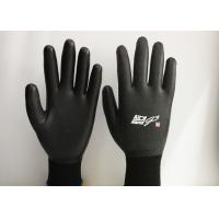 15 Gauge Nylon Latex Coated Gloves Excellent Breathability EN388 Certificated