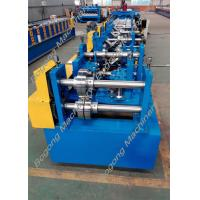Quality Automatic Cz Purlin Roll Forming Machine Post Punching Post Cutting wholesale