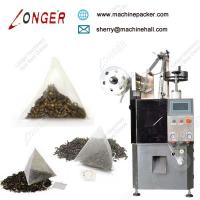Buy cheap High speed triangle tea bag packing machine,wholesale automatic triangle tea bag wrapping machine from wholesalers