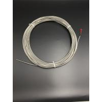 Buy cheap 6mm diameter pt100 stainless steel temperature sensor with 20M metal horse tube from wholesalers