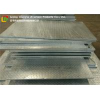 Quality 3mm Chequer Plate Heavy Duty Floor Grates , Stainless Steel Bar Grating High Strength wholesale