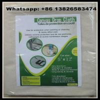 260 GSM 12X15 Canvas Drop Cloth China Supplier,8oz/10oz/12oz available