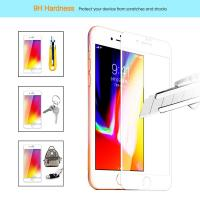 Cheap Ultra Anti Fingerprint Edge To Edge Screen Protector Iphone 7 / 8  2.5D / 3D for sale
