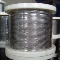 Stainless Steel Wire Rope with 1 x 7, 1 to 3mm Control Cable, Available in in Grade AISI304