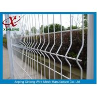 Quality Galvanized Steel Pipe Fence For Sport Field / Wrought Iron 3d Fence Panel wholesale
