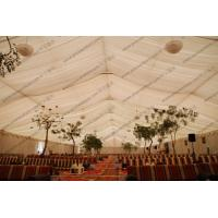 Buy cheap Clear Span 30 x 40m Large Event Tents or Wedding Tent 100% Waterproof With Self - Cleaning Ability from wholesalers