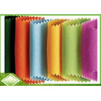 Quality Colored PP Spunbond Nonwoven Fabric , 100% Polypropylene Non Woven Cloth wholesale