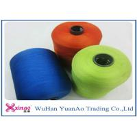 Quality Spun High Tenacity Polyester Yarn , Colorful High Strength  Spun Yarn for Sewing wholesale