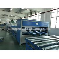 Quality 1050 Mm Arm Length Mattress Covering Machine Adjustable Height And Width wholesale