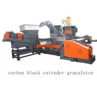 Quality Carbon Black Single Twin Screw Extruder Granulator Making Machine wholesale